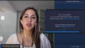 Shirley Sánchez Colombia Proptech